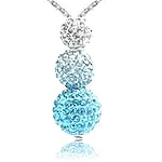 Gradient Pave Style Necklaces
