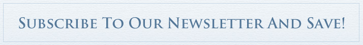 Subscribe to our newsletter and save!