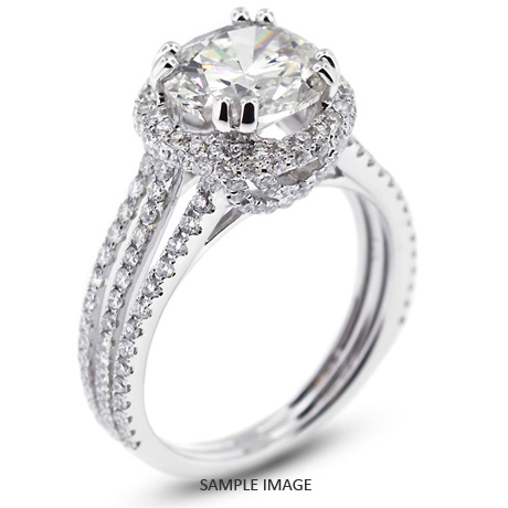ring earth engagement rings stunning news diamond split brilliant shank odelia
