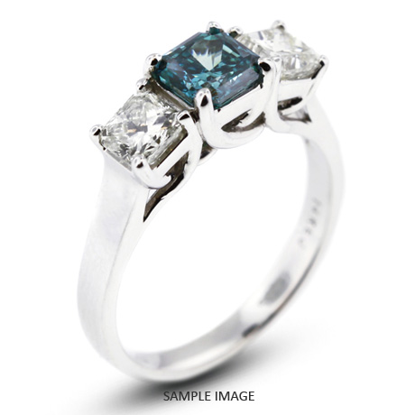 platinum stone classic total engagement h carat princess diamond style sq trellis three with radiant ring pid rings